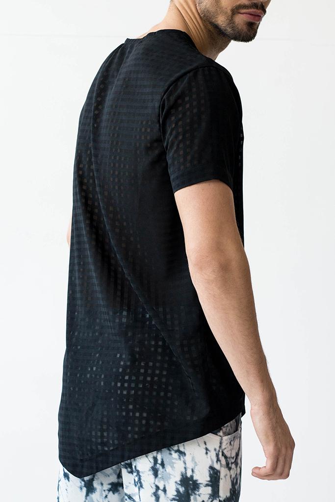 unvtd koszulka przezroczysta męska